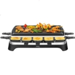 Tefal Raclette & Grill Inox & Design RE458812