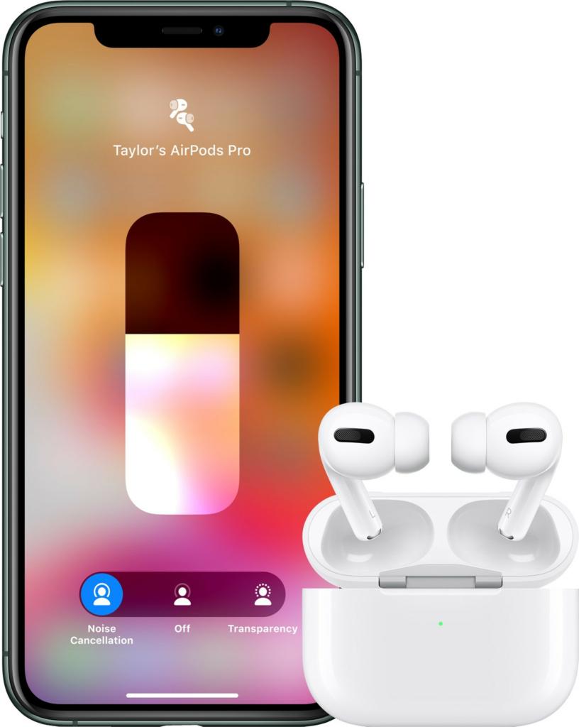 Apple AirPods Pro gebruik