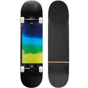 Oxelo Complete Skateboard 100 Gradiant Parrot