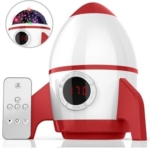 OhmyGood Remote Control Night Light Projector Dream Rotating