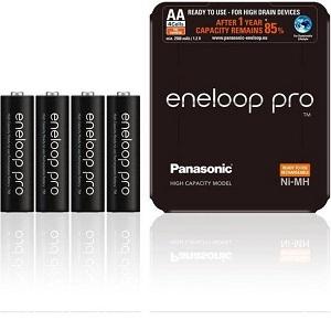 Panasonic Eneloop Pro AA High Capacity Model