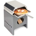 Simply Metal Fire Pit And Pizza Single Oven