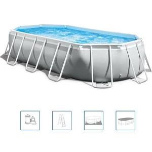 Intex Oval Prism Frame Pool