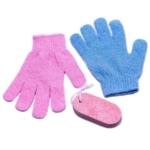 Nesto's Scrub Handschoen en Puimsteen