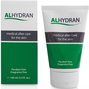 Alhydran Medical after care for the skin