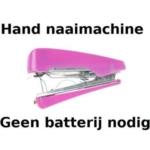 Allesvoordeliger Hand Mini Naaimachine