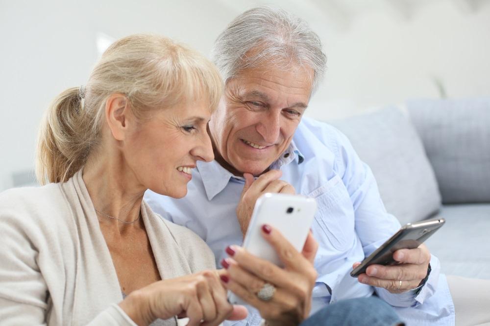 Smartphones voor senioren